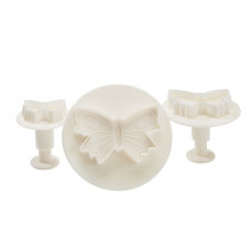 Large Butterfly Plunger Cutters Set