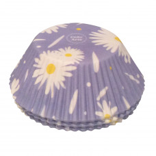 Daisies Cake Cases - 75Pcs