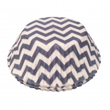 Chevron Cake Cases - 75Pcs