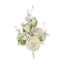 White Medium Rose Bouquet